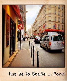 Rue de la Boetie ... Paris