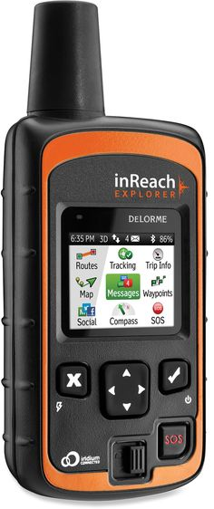 WISHLIST DeLorme inReach Explorer Satellite Messenger - REI.com