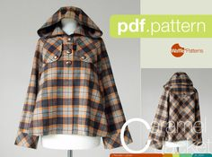PDF sewing pattern : : by WafflePatterns