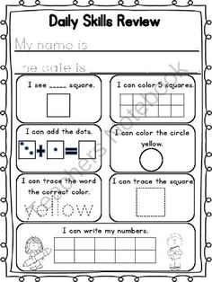 64 best Homeschool Daily Notebook Activities images on