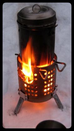 DIY Hobo stove