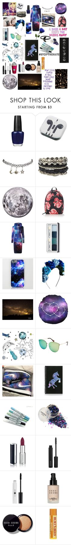 """""""star light, star bright"""" by snow-queen13 ❤ liked on Polyvore featuring OPI, PhunkeeTree, Wet Seal, ASOS, Seletti, Kate Spade, Clinique, Crown and Glory, Tempaper and Full Tilt"""