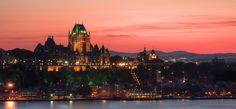 Quebec City At Dusk HDR