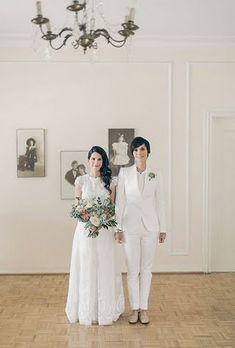 Same-Sex Wedding Photography   Brides.com