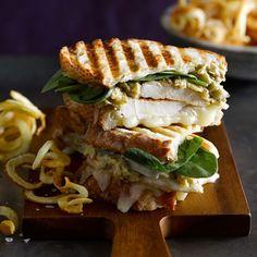 Chicken Panini with Artichoke Parmesan Spread | Williams-Sonoma