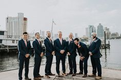 Groomsmen. Navy and Peach wedding colors. Groomsmen outfit. Groomsmen inspiration. Baltimore wedding photographer. Wild June Photography