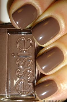 """Essie - """"Hot Coco"""" good for the winter months"""