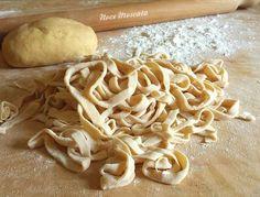 Fettuccine fatte in casa / ricetta della nonna