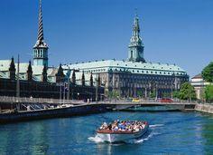 Castles. The Danish Parlement, Christiansborg, Denmark