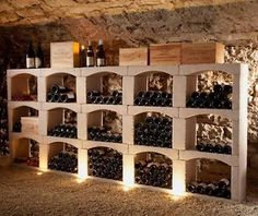 Wijnrekken on pinterest wine wall arnhem and wine racks - Wijnkelder ...