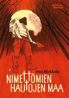 Nimettömien hautojen maa, Kuvittaja / Illustrator Ossi Hiekkala / archipictor.com 2016