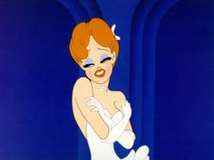 """Red Hot in """"Swing Shift Cinderella"""" (1945) - Tex Avery"""