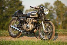 1973 Honda CB350F Cafe Racer  Meticulously Documented Frame Up Restoration
