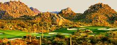 Troon North Golf Club, North Scottsdale, Arizona, USA