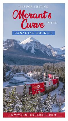 Morant's Curve - Tips for Visiting and Photographing this Famous Canadian Rockies Viewpoint – jenn explores - travel, landscape and lifestyle photographer Canadian Pacific Railway, Canadian Rockies, Canadian Food, Vancouver, Toronto, Alberta Canada, Banff National Park, National Parks, Quebec