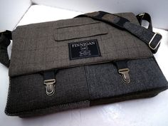 Mens 15 laptop Messenger Bag 15 Macbook Pro от SewMuchStyle