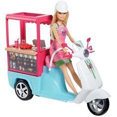 e Barbie - Scooter Bistrot Mattel Barbie, Barbie Doll Set, Doll Clothes Barbie, Barbie Doll House, Barbie Cars, Barbie Style, Barbie Dream, Barbie Website, Newborns