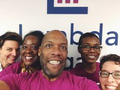 Lambda Legal: Is the biggest legal organisation in the United States committed to full civil rights for the LGBT community and people living with HIV. Staff at Lambda Legal's Atlanta office celebrated Spirit Day by posting one of these anti-bullying work selfies to Twitter.