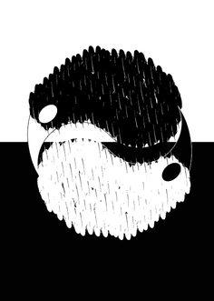 Tweede uitwerking van het oorspronkelijke idee, yin yang