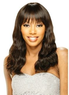 Model Model Nude 100% Human Hair Wig Brazilian Wave 18""