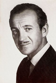 David Niven is the man by which all men are judged by me, ja.  He's the reason I like facial hair, I think.