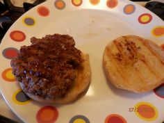 Hamburgers:  George Foreman Style George Foreman Recipes, George Foreman Grill, Grill Recipes, Beef Recipes, Burger Patty Recipe, Indoor Grill, Hamburgers, Steak, Grilling
