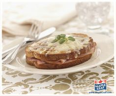 Multigrain Croque Monsieur from www.MapleLeaf.com Multigrain, Easy Food To Make, Deli, Sandwiches, Pie, Tasty, Fresh, Lunches, Breakfast