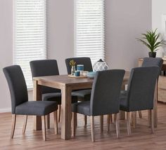 Avalon 7 Piece Dining Set with Urban Chairs | Dining Room | Living & Dining | Categories | Fantastic Furniture - Australia's Best Value Furniture & Bedding