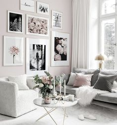 Scandinavian Poster stylish pink fashion Canvas Painting Nordic Wall Art Print Flower Modern Picture For Living Room On The Wall Picture Wall Living Room, Living Room Pictures, Living Room Decor, Bedroom Decor, Wall Decor, Inspiration Wand, Living Room Inspiration, Poster Store, Gallery Wall