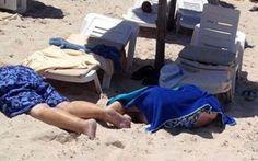 Tunisia, attacco in resort nel golfo di Hammamet Gli attentatori hanno fatto irruzione in un resort composto da due hotel: l'Imperial Marhaba a Hammam-Sousse, nella zona turistica di Kentaoui, e il Port el Kantaoui.Secondo alcune testimonianze, i t #tunisia #attentato #terrorismo #morti