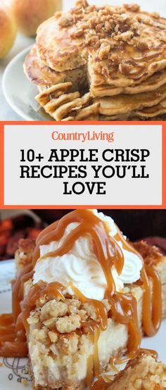 ... recipes on repeat this autumn. Apple crisp is our favorite fall treat