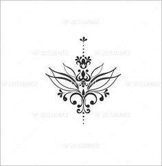 Resultado de imagem para under boob sternum tattoo designs Trendy Tattoos, Love Tattoos, Beautiful Tattoos, Body Art Tattoos, New Tattoos, Mini Tattoos, Awesome Tattoos, Sternum Tattoo Design, Lotusblume Tattoo