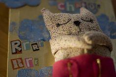 Tableau mon chaton / my sweet kitty by Les doudous d'Eliott, via Flickr