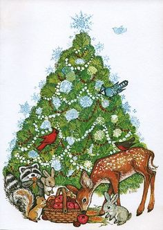 Old Christmas Post Cards — (638x900)
