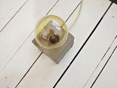 DIY: Luminária de Concreto - Ideias em Casa