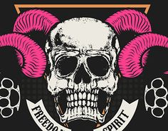 "Check out new work on my @Behance portfolio: ""Skulls"" http://be.net/gallery/37692939/Skulls"
