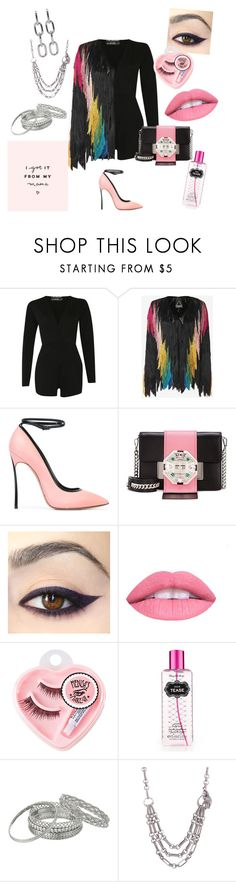 """""""I Got It From My Mama...the set you can see"""" by gigiglow ❤ liked on Polyvore featuring Pilot, Tim Ryan, Casadei, Prada, L.A. Girl, Medusa's Makeup, Victoria's Secret, GUESS, Kieselstein-Cord and Alexander Wang"""