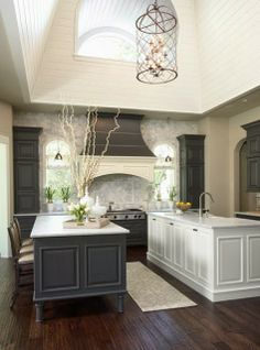 pictures of backsplash in kitchens cabinets with coconut grey glaze in 7439