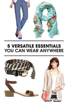 5 workwear essentials that will punch up your warm weather looks--all styled in true ELLE fashion!