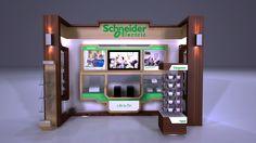 Schneider Electric Stand on Behance