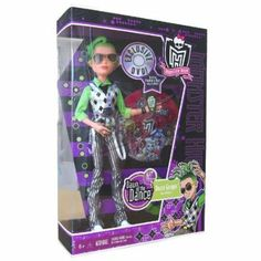 Rare Monster High  | Monster High Dawn of the Dance Deuce Gorgon Doll in Exclusive Purple ...
