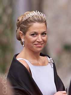 Máxima Zorreguieta; wedding of Crown Prince Haakon of Norway and ms. Mette-Marit Tjessem Høiby, August 25th 2001