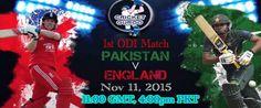 Live Match News | Ptv Sports Pak Vs Eng 1st ODI Live Streaming - Live Match News