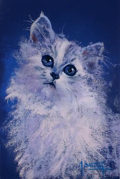 Michel, Les Oeuvres, Facebook, Owl, Blog, Cats, Artwork, Pastels, Animaux