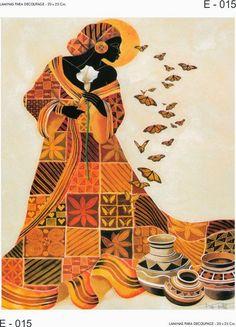 Keith Mallett Poster Print Wall Art Print entitled Soul's Flight, None African American Artist, American Artists, Black Women Art, Black Art, Bel Art, Street Art, African Quilts, African Colors, Afrique Art