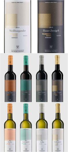 Design Agency /Designer: Carlo Grabowski , Alexander Böll Project name: New bottles for the Winzervereinigung Freyburg-Unstrut Location: Germany Category: Wine