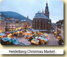 Heidelberg Christmas Market - German Christmas Market Tourist Information
