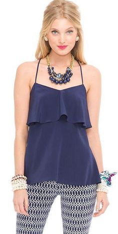 ee1c4a6b9e8 Lilly Pulitzer Fall '13- Sunset Top Casual Elegance, Casual Chic Style,  Sophisticated