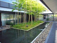 Modern Japanese architecture by Bilge Mutlu, via Flickr
