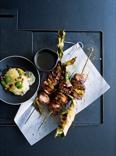 saving this lamb recipe for the amazing olive and lemon salsa. pretty special stuff - chris' fav